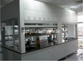 Stainless steel chemistry laboratory