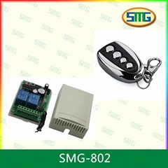 SMG-802 12v/24v transmitter receiver wireless remote control relay switch