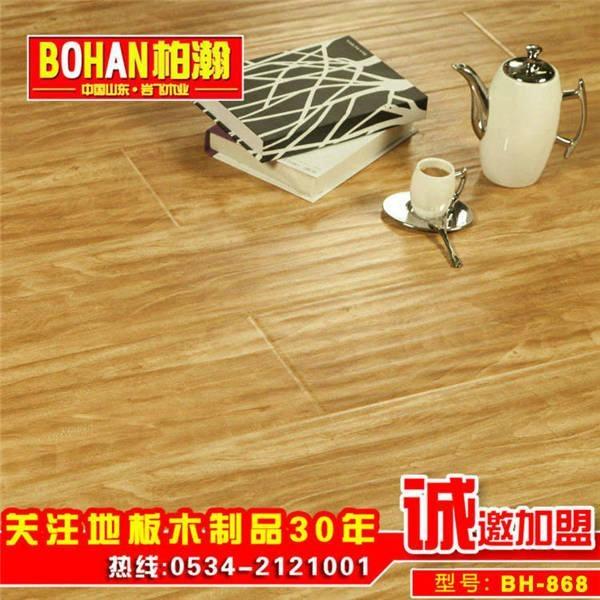 柏瀚強化地板 適用地暖地熱 CE標準中國製造 4