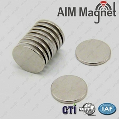 Round Strong Neodymium Magnets Disc NdFeB Magnet