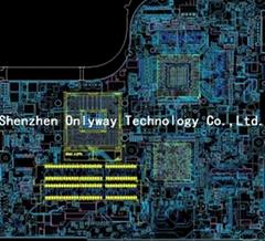 笔记本电脑PCB设计线路板设计layout外包消费电子PCB设计