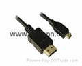 HDMI A TO HDMI D TYPE Connecting Cable Manufacturer