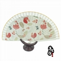 [professional] pure craft to create exquisite folding wooden fan (welcome to buy 3