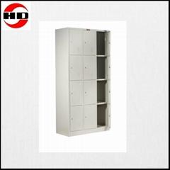 Hot sale 12 doors steel wardrobe