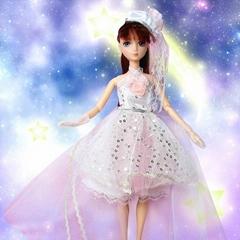 fashion 12 inch barbie doll clothes dress