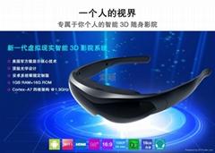 2015 索颖3D视频眼镜HD-K600  智能手表 安卓系统 WIFI