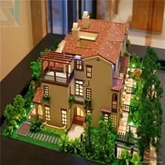 architectural model Perfect handmade skill villa models