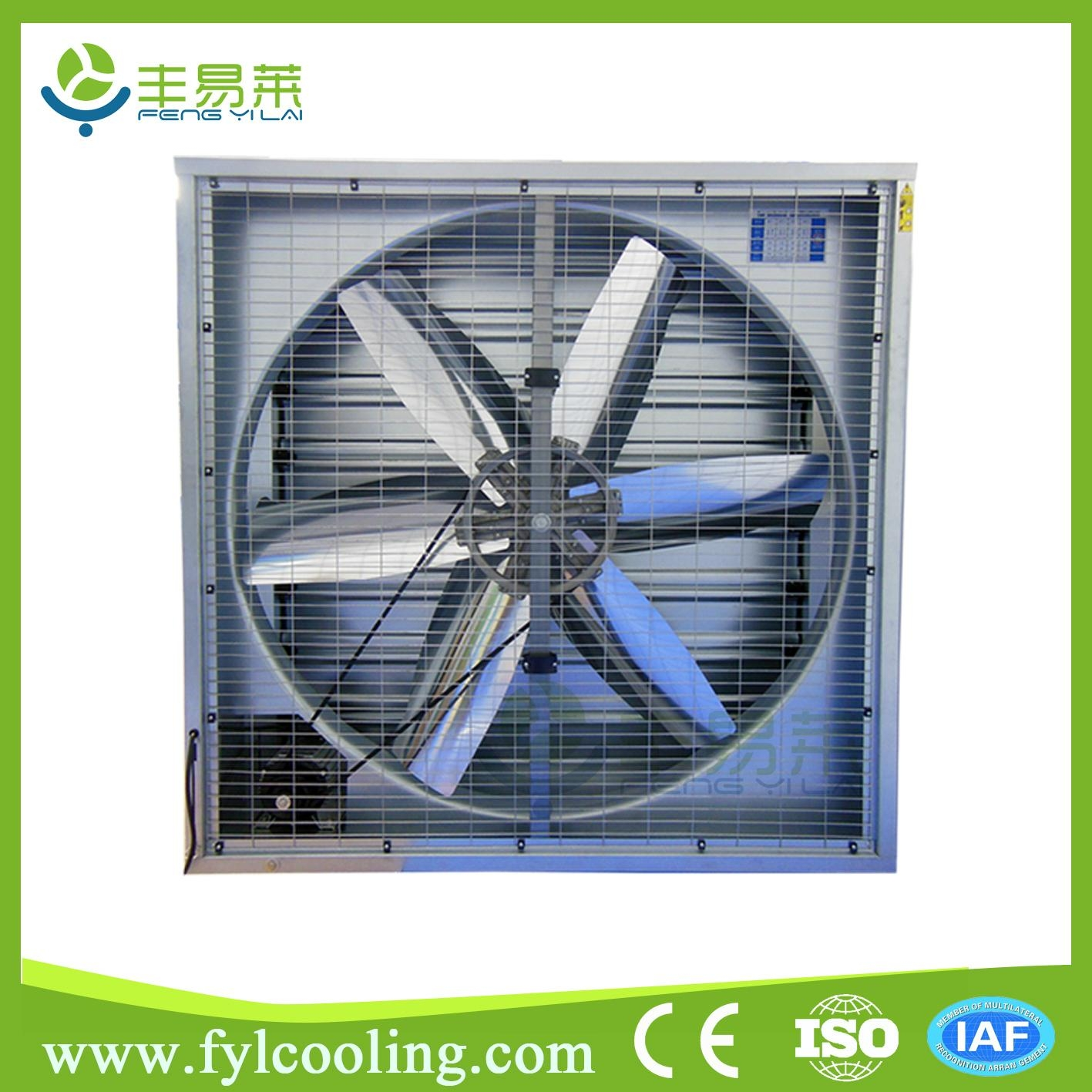 Industrial Wall Exhaust Fan : Cfm thermostat controlled smoking room industrial