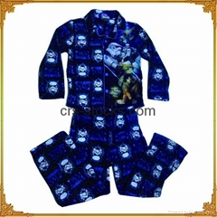 Boys and Girls' Flannel pajamas set-Wholesale Only