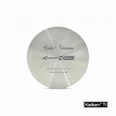Grade5 titanium disc Dental Implanting