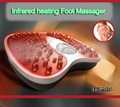 ew Electric Vibration and Infrared Heating Function Foot Massager Machine 2