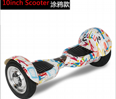 hot sale smart  hoverboard electric skateboard 10 inch bluetooth