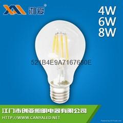 A60玻璃燈 LED蠟燭燈