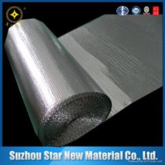 厂家定制彩印膜复合珍珠棉铝膜 高清晰大方格铝膜 保温防潮隔热材
