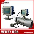 Pipe water ultrasonic flow meter MT100PU