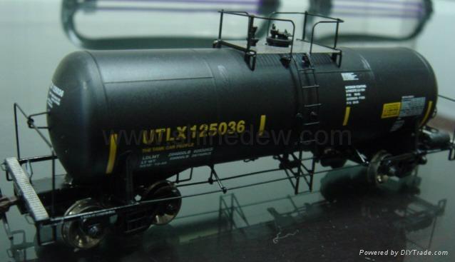 Scale tanker car model 1