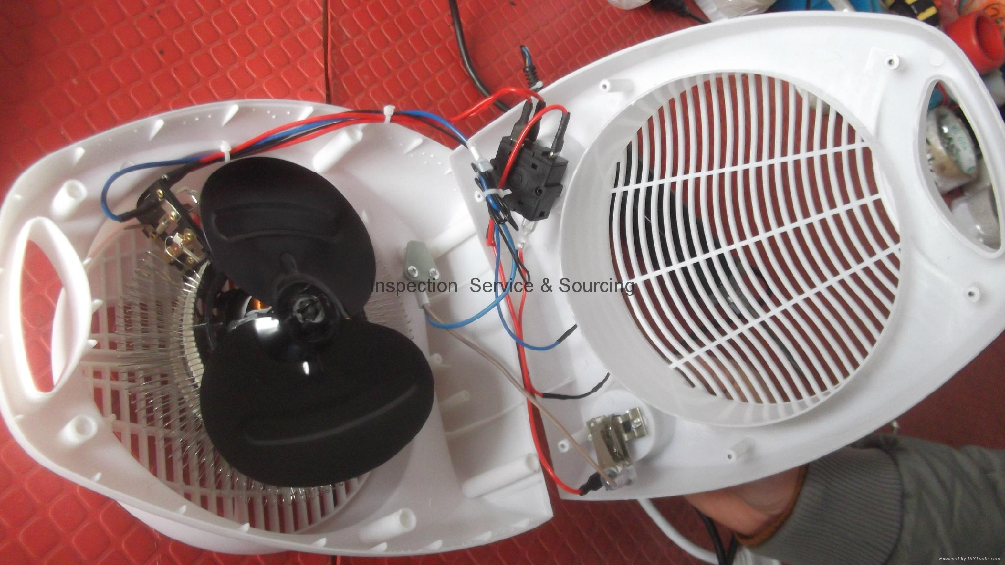 Mini fan heater 5