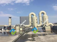 塑料废气处理厂家塑料造粒油烟粉尘处理技术原理