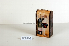 Antique Owl Retro Single Handle Decorative Wine Boxes