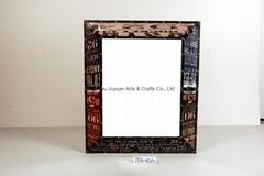 Vintage Handmade Shabby Chic Wooden Photo Frame