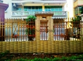 China fence manufacturers Guangdong zinc steel fence production