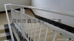 鍍鋅安防樓梯扶手價格_廣東深圳鋅鋼樓梯扶手生產廠家