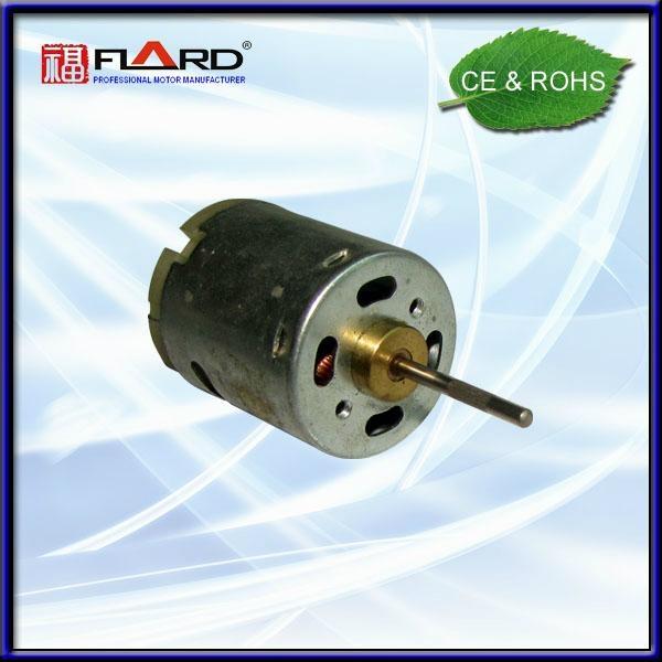 DC Motor for hair dryer