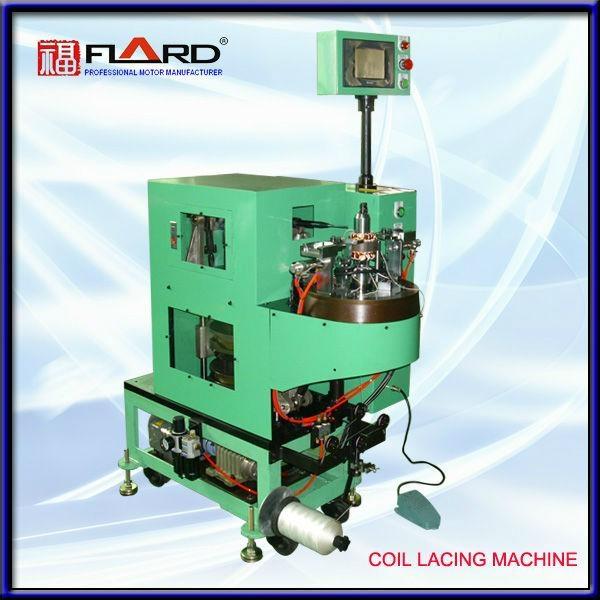 Single lacing machine