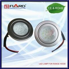 Round LED lamp