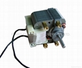Shaded pole motor/SP 60 series with ball bearing