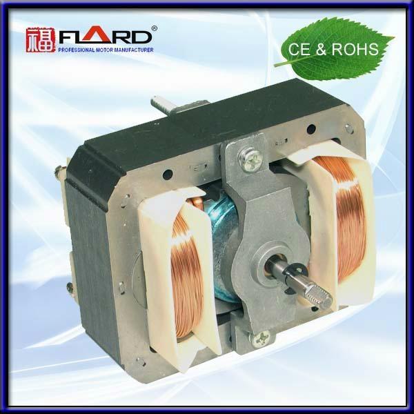 50 / 60 Hz Frequency 110v 220v Shaded Pole 68*84 Hood motor K20 with AL bracket 1