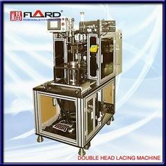 double head lacing machine
