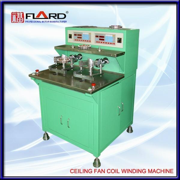 Winding machine for ceiling fan motor 1