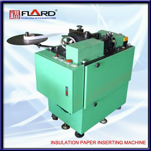 Slot liner Inserting machine for ceiling fan 1