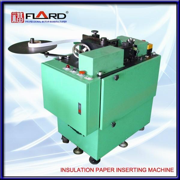 Slot liner Inserting machine for ceiling fan