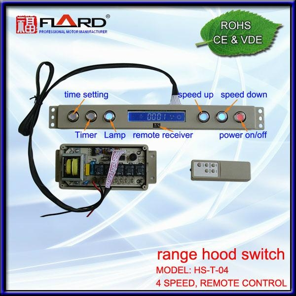 4 speed Touch switch with remoter