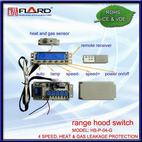 4 speed Press switch with gas & heat sensor 1