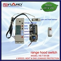 4 speed Touch switch with gas & heat