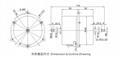AC 100-240V capacitor motor Conditioner outdoor unit range hood fan motor 2