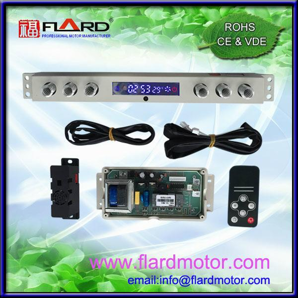 4 speed mirror effect screen touch switch