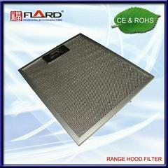Filter for cooker hood