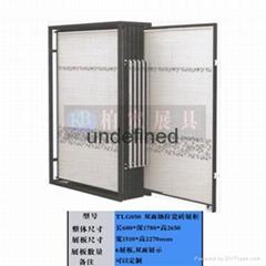 抽拉式双面橱柜门展示柜