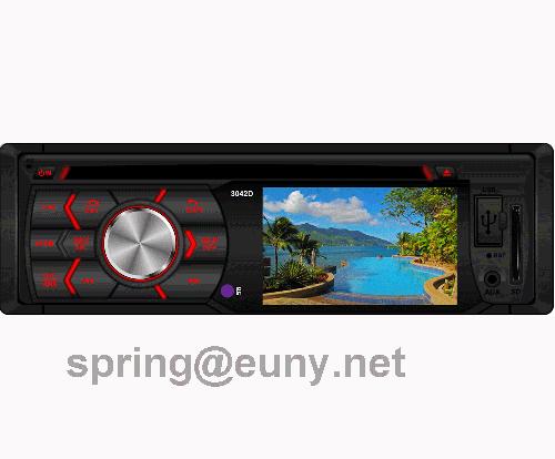 single din in-dash car dvd player with 3inch tft car stereo  multi-media 3