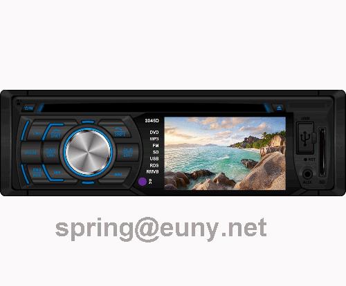 single din in-dash car dvd player with 3inch tft car stereo  multi-media 4