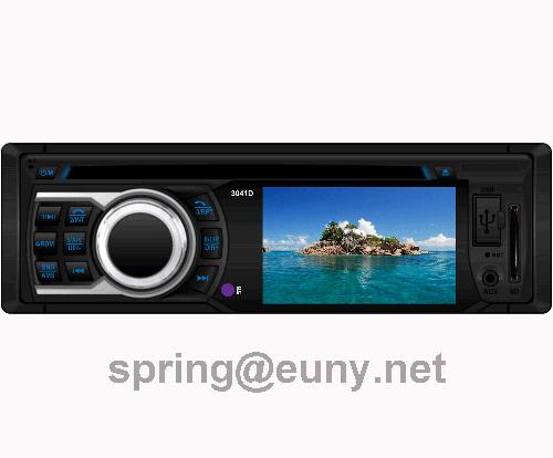 single din in-dash car dvd player with 3inch tft car stereo  multi-media 5