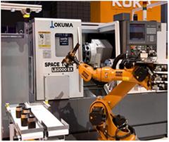 CNC機床上下料機器人系統