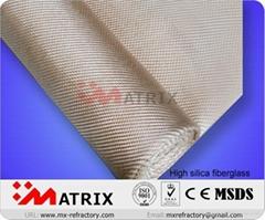 high silica cloth fiberglass