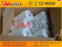 High Heat Insulation Wrap 525tex 1000tex SUS wire or Fiberglass Wire Fiber Yarn