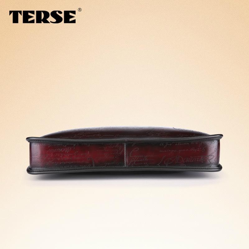 Vintage fashion leather briefcase bags for men business portfolios mens laptop   4