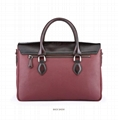 Berluti waxed leather briefcase with